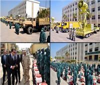 بتوجيهات من الرئيس.. القوات المسلحة تعاون أجهزة الدولة لمجابهة فيروس «كورونا»