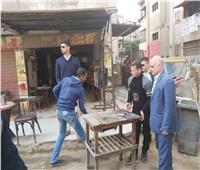 حي شرق شبرا الخيمة يشن حملات على المقاهي لمنع الشيشة.. صور