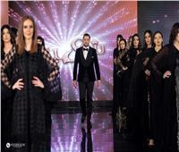 نجمات الفن والمشاهيرفي عرض أزياء محمد شهبندر