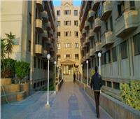 إخلاء المدن الجامعية بجامعة حلوان من الطلاب
