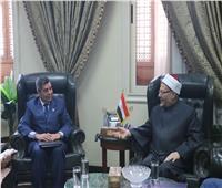 مفتي الجمهورية: الإفتاء تشارك كافة مؤسسات الدولة المصرية المسؤولية في مواجهة كورونا والحد من انتشار