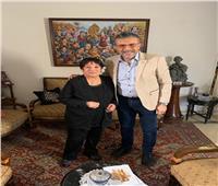 الفنانة سميرة عبد العزيز ضيفة «واحد من الناس» بمناسبة عيد الأم