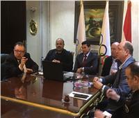 صور| اجتماع الأولمبية المصرية والدولية عبر الفيديو كونفرانس