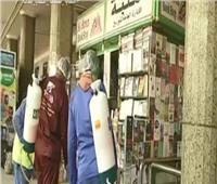 بالفيديو   تعقيم سكك حديد مصر للوقاية من انتشار فيروس كورونا