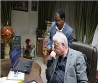 فودة يستعرض مقترح عدد من المشروعات الزراعية والإنتاجية بمدينة طور سيناء