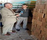 رئيس «طور سيناء» يتفقد مجمع الشركة العامة لتجارة الجملة