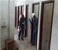 «مياه المنيا» تطلق مبادرة لتعقيم المساجد والكنائس