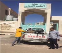 رش وتطهير جميع المباني الحكومية بجنوب سيناء لمواجهة انتشار كورونا