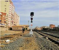 صور.. دخول برجي طوخ وسندنهور الخدمة ضمن تطوير إشارات السكة الحديد