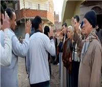 فيديو  بدون سلام ولا تقبيل.. العزاء في زمن «كورونا»