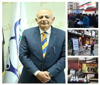 صور| «المؤتمر» بمنيا القمح يدشن حملة لتعقيم المساجد والمنشآت العامة