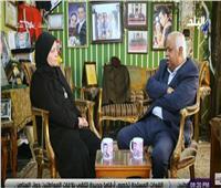 والدة الشهيد شريف عمر: «تحققت أمنيتي باستماع الرئيس السيسي لقصة استشهاد نجلي»