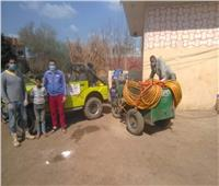 فيديو | مستقبل وطن والأهالي يقومون بعملية تطهير لقرية أبو شعرة بالمنوفية