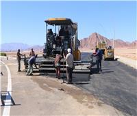 «فودة» يتفقد أعمال تطوير سكن العاملين بحي النور في شرم الشيخ