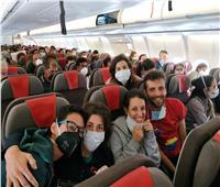 بعد وقف الطيران| عودة مواطنين إسبان لمدريد كانوا عالقين في الإكوادور
