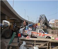 القليوبية تشن حملة مكبرة لإزالة الإشغالات والأسواق العشوائية بمدينة بنها