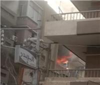 السيطرة على حريق هائل بطنطا دون ضحايا