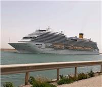 فيديو| كيف تعاملت قناة السويس مع عبور سفينة إيطالية تحمل 65 مصابا بالكورونا ؟