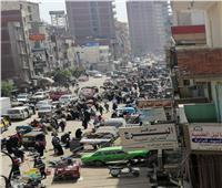 امسك مخالفة| زحام وتكدس في سوق ابو دراع بالمحلة