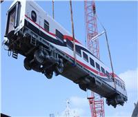 بالصور| وصول نموذج صفقة «الـ 1300 عربة قطار» الروسية لميناء الإسكندرية