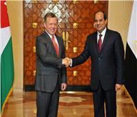 مستجدات فيروس كورونا تتصدر مباحثات الرئيس السيسي مع ملك الأردن