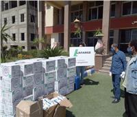محافظة السويس ولافارج مصر يطلقان مبادرة لدعم أهالى المحافظة تجاه فيروس كورونا