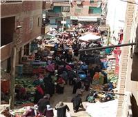 امسك مخالفة | «سوق طوخ» لا يعرف الحظر من فيروس كورونا