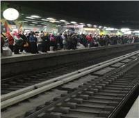 امسك مخالفة| زحام وتكدس المواطنين في مترو العتبة