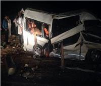 وصول سيارات الاسعاف لنقل مصابي حادث كمين الصف