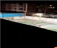 امسك مخالفة| مباراة كرة قدم في المرج رغم حظر التجوال