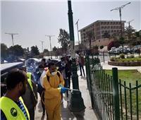تعقيم مدارس ومساجد ومنشآت عامة بالقاهرة لمواجهة كورونا