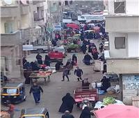 امسك مخالفة| سوق ومحلات نبروه تخالف قرار مجلس الوزراء