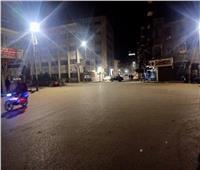 السكون يخيم على شوارع وميادين محافظة القليوبية خلال حظر التجوال