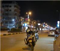 حظر التجوال  انتشار مكثف لرجال الأمن بشوارع القليوبية لليوم الثاني