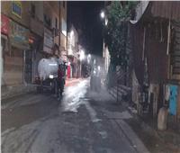 رئيس المدينة الأقصر يؤكد: استمرار أعمال رش وتطهير أحياء المدينة