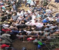 صور  بالأسماء.. ضحايا حادث انهيار عقار بالمنوفية