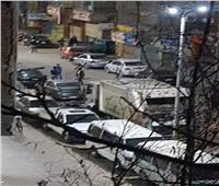 امسك مخالفة  تجمعات شباب في شارع احمد زكي بالمعادي
