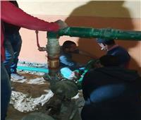 تركيب «بوستر» لمواجهة مشكلة ضعف المياه بقرية بأسيوط