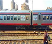 إصابة عامل سقط أسفل القطار بمحطة دمنهور
