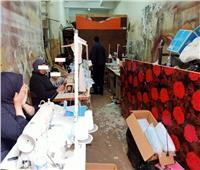 ضبط ممرض يدير مصنع ماسكات طبية غير مطابقة للمواصفات بدمياط
