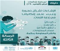 4 رسائل من «الوطنية المصرية لليونسكو» لمواجهة «كورونا» ومحاربة الشائعات
