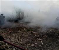 السيطرة على حريق في عصارة قصب بنجع حمادي