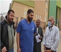 رئيس مدينة إسنا يوجه الشكر لأطباء مستشفى العزل الصحي بالمدينة