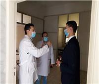 نائب محافظ القليوبية يتفقد مستشفى ناصر العام بشبرا الخيمة