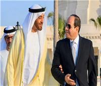 محمد بن زايد على تويتر: بحثت مع أخي عبد الفتاح السيسي جهود مكافحة كورونا