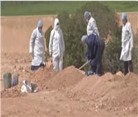 شاهد.. كيف يتم دفن ضحايا فيروس كورونا على الشريعة الاسلامية ؟