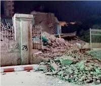 انهيار جزء من قصر مكرم عبيد باشا  بقنا