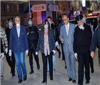 محافظ دمياط ومدير الأمن يتفقدان الأكمنة الأمنية