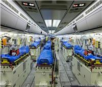 صور| الطيران الألماني ينفذ «مهمة مستحيلة» لنقل المرضى الإيطاليين لمستشفيات ألمانيا