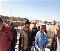 نائب وزير الإسكان يتفقد المحاور والطرق الرئيسية والكبارى بمدينة 6 أكتوبر